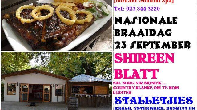 Braai dag @ Die Eike Restaurant
