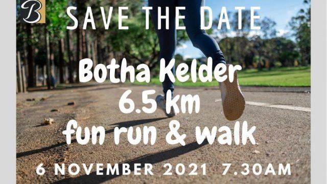 Botha Cellar Fun walk & Run