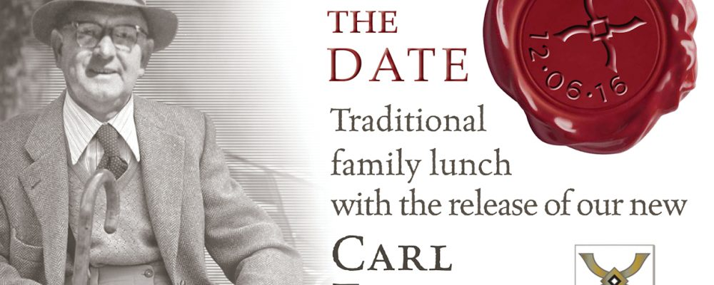 Opstal Estate: Save The Date – Carl Everson vintage release