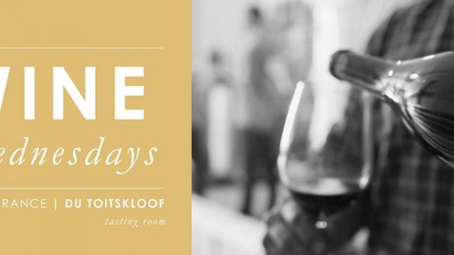 Du Toitskloof Wine Wednesdays