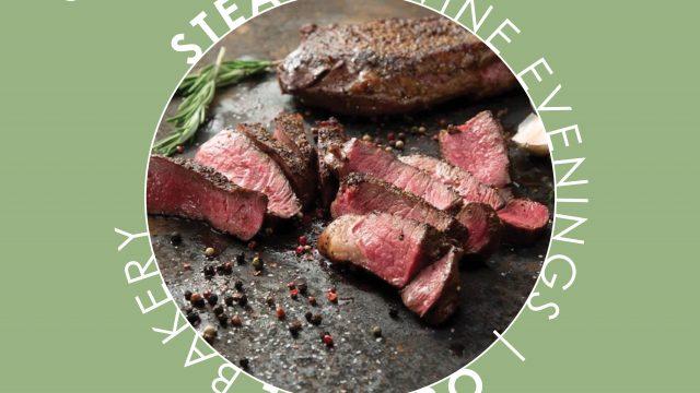 Du Toitskloof steak and wine