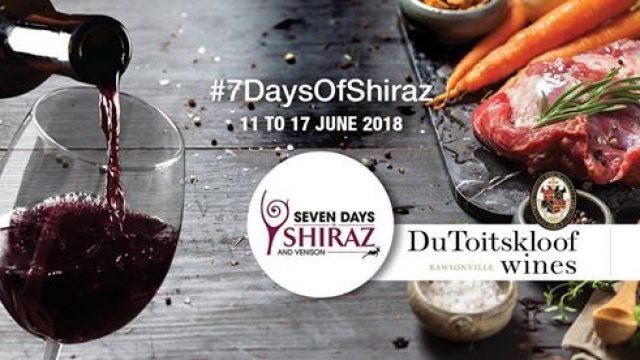 7DaysofShiraz @ Du Toitskloof