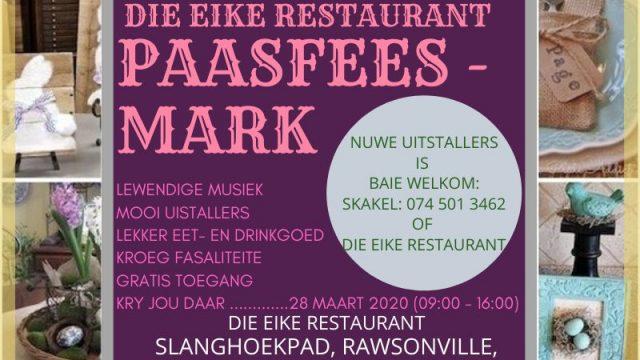 Eike reatsurant Easter market