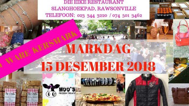 Eike Market day 15 December