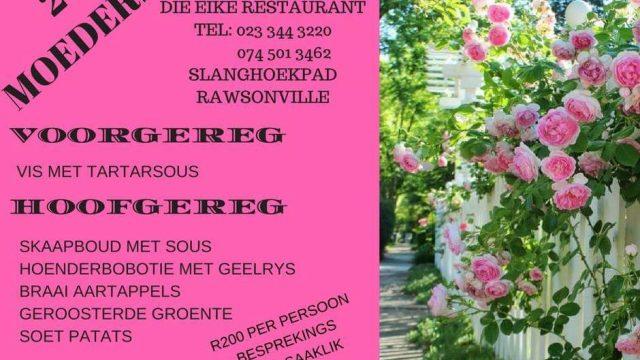 Mother's day @ Eike restaurant