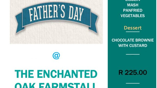 Father's day at Enchanted Oak