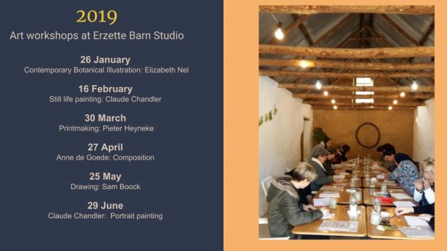 Erzette art workshop dates