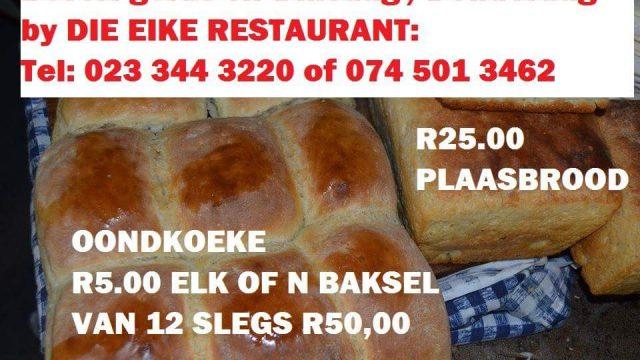 Die Eike Restaurant Specials