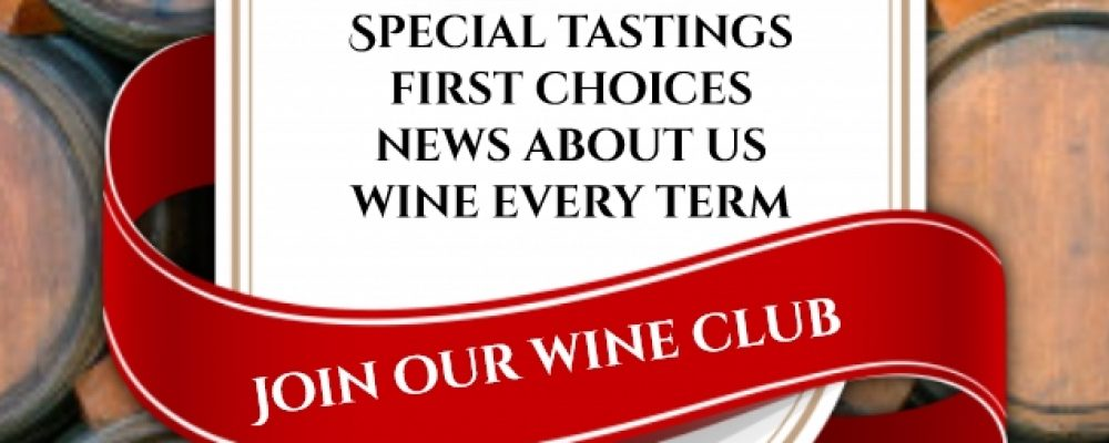 Join Jason's Hill Wine Club