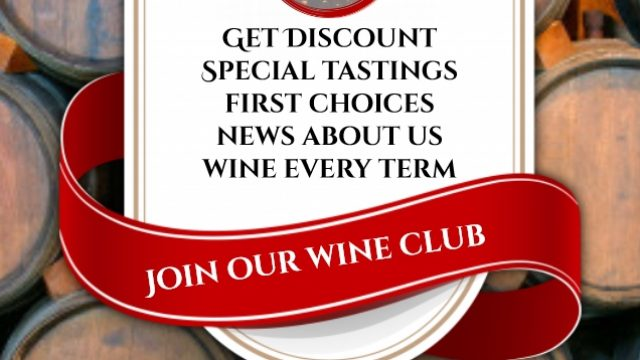 Join Jason's Hill Wine Club