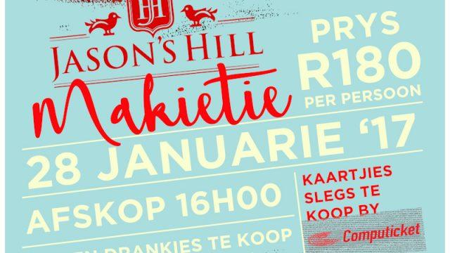 Jason's Hill Makietie