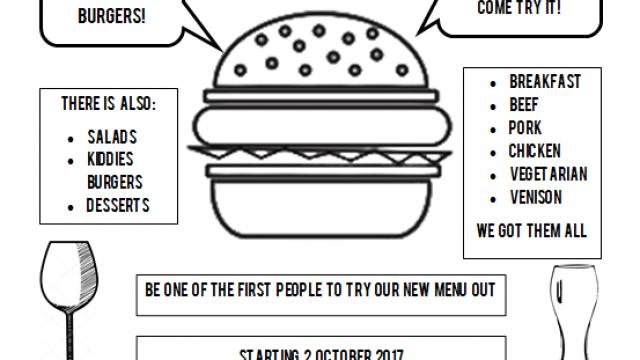 Jason's Hill new menu