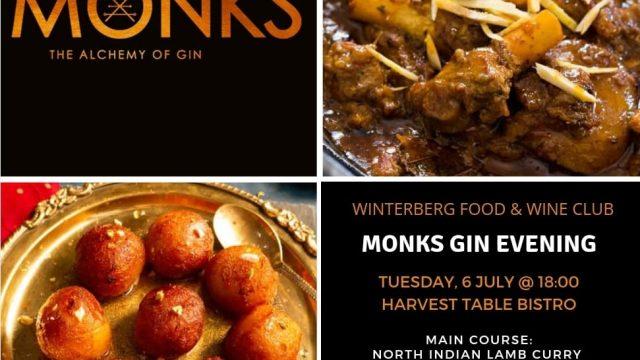 Monks Gin Evening