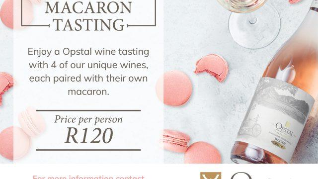 Opstal Macaron tasting