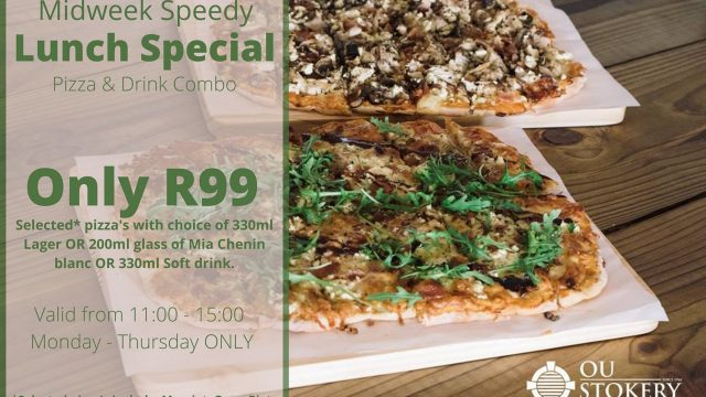 Ou Stokery Midweek lunch special