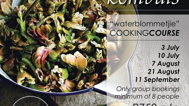 Picardi Place Waterblommetjie cooking class