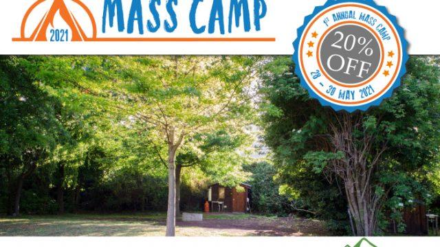 Slanghoek Mountain resort Mass camp