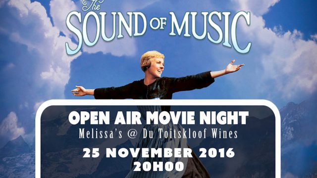 Du Toitskloof Cellar: Open Air Movie Night