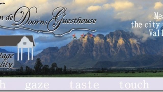 Aan De Doorns Guest House Winter Warmer Special