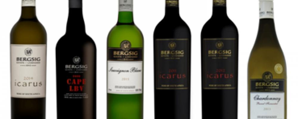 Bergsig Estate: Koop 6 bekroonde wyn geskenkpak vir slegs R580