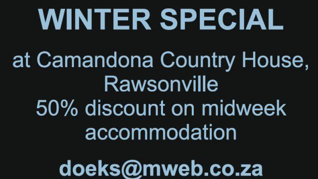 Midweek Winter Special at Camandona Country House