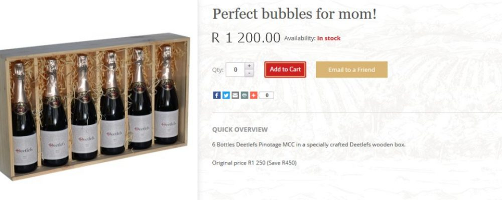Perfect bubbles for mom!