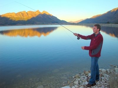 Fly Fishing @ Slanghoek Mountain Resort