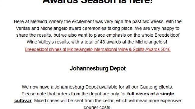 Merwida: Awards Season is here!