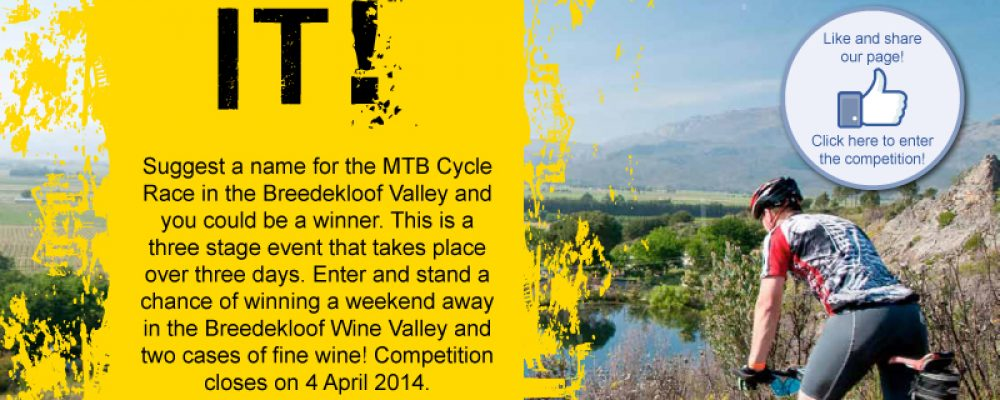 Breedekloof Wine Valley: Name It and Win!