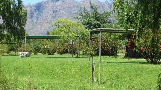 Slanghoek Mountain Resort Camping