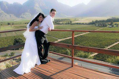 Slanghoek Resort Wedding