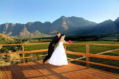 Slanghoek Resort Wedding