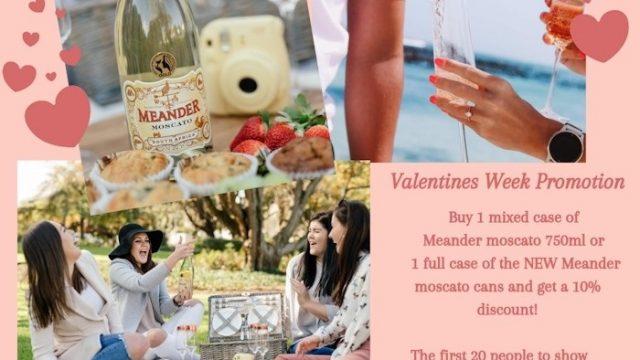 uniWines Valentine month specials