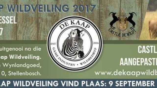 De Kaap Wildlife Auction
