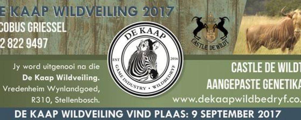 De Kaap Wildlife Auction